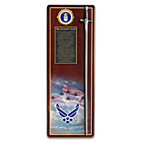 America's Heroes Air Force Wall Decor