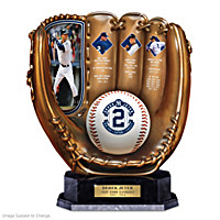 Derek Jeter Glove Sculpture