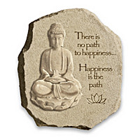 Happiness Is The Path Wall Decor