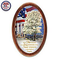 9\/11 Survivor Tree Collector Plate