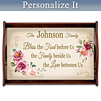 Family Celebrations Personalized Serving Tray