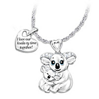 Koala-ty Time Pendant Necklace