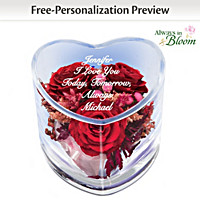 True Love Is Forever Personalized Table Centerpiece