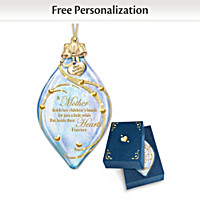 A Mother Holds Her Child's Heart Personalized Ornament