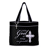 With God All Things Are Possible Tote Bag