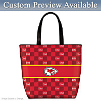 Kansas City Chiefs Personalized Tote Bag