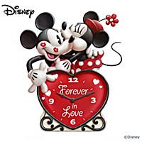 Disney Forever In Love Clock