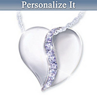 Joy To My Heart Personalized Pendant Necklace