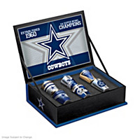 Dallas Cowboys Shot Glass Set