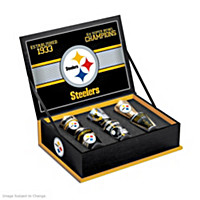 Pittsburgh Steelers Shot Glass Set