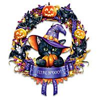 Feline Spooky Wreath