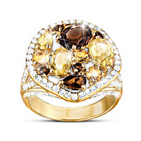 Golden Luster Ring
