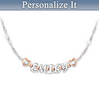My Sweet Granddaughter Personalized Necklace
