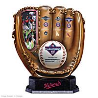 2019 World Series Champions Nationals Glove Sculpture