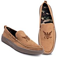Navy Pride Men's Shoes