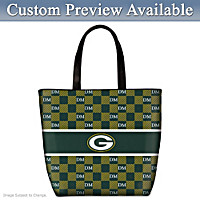 Green Bay Packers Personalized Tote Bag