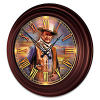 John Wayne: Timeless Legend Wall Clock