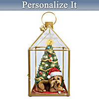 Making Spirits Bright Personalized Lantern