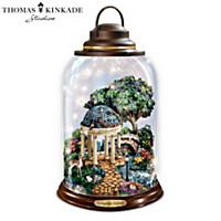 Thomas Kinkade Springtime Serenity Lantern