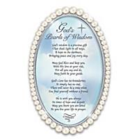 God's Pearls Of Wisdom Poem Frame