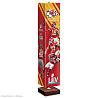 Kansas City Chiefs Super Bowl LIV Floor Lamp