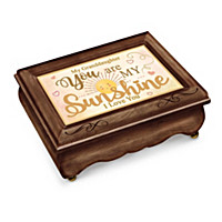 Granddaughter, You Are My Sunshine Music Box