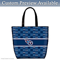 Tennessee Titans Personalized Tote Bag