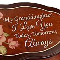 Granddaughter, Love You Always Music Box