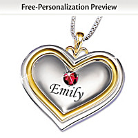 A Bushel & A Peck Personalized Pendant Necklace