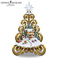 Thomas Kinkade Traditions Of The Season Christmas Tree