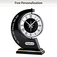 My Son, My Pride, My Joy Personalized Clock