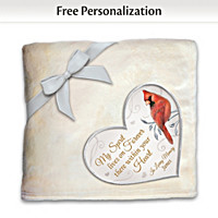 Forever In My Heart Personalized Blanket