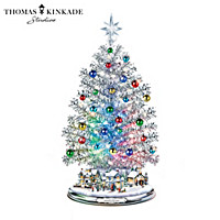 Thomas Kinkade Silver Blessings Christmas Tree