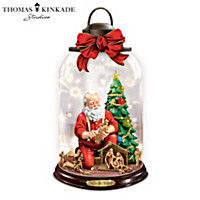 Thomas Kinkade Joy To The World Lantern
