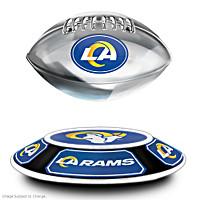 Los Angeles Rams Levitating Football Sculpture