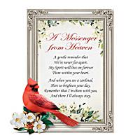 Messenger From Heaven Poem Frame