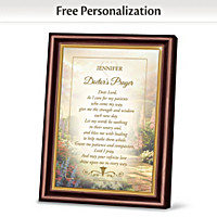 Health Care Professional's Prayer Personalized Frame