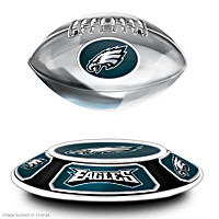 Philadelphia Eagles Levitating Football Sculpture
