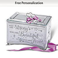 Granddaughter, You Are Strong Personalized Music Box