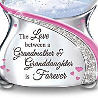The Love Between A Grandmother & Granddaughter Glitter Globe