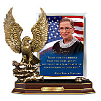 Ruth Bader Ginsburg Heirloom Tribute Sculpture