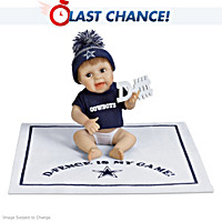 D-Fence Is My Game Dallas Cowboys Baby Doll