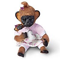 Gertie Plays Mommy Monkey Doll