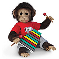 Wally's Concert Recital Monkey Doll