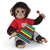 Wally\'s Concert Recital Monkey Doll