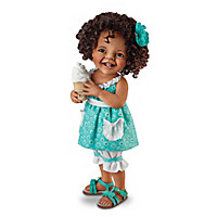 Giggles And Curls Child Doll