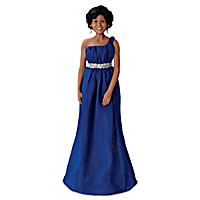 Michelle Obama State Dinner Portrait Doll