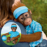 Abe's Hugs Monkey Doll