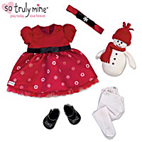 Holiday Celebration Baby Doll Accessory Set