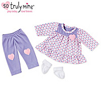 Happy Hearts Play Outfit Baby Doll Accessory Set